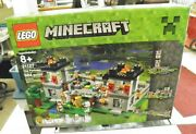 Lego 21127 Minecraft The Fortress - New Factory Sealed - Retired