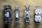 Lutron Dimmers, Leviton Switches And Cover Plates