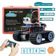 Keywish Tank Robot For Arduino Uno R3 Smart Cars Kit App Rc Remote Control