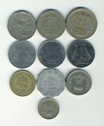 India - Republic - Lot Of 10 Different Coins - Great Starter - Lot In-24
