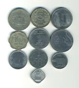 India - Republic - Lot Of 10 Different Coins - Great Starter - Lot In-20