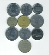 India - Republic - Lot Of 10 Different Coins - Great Starter - Lot In-14