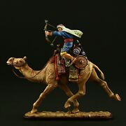 Tin Soldier, Museum Top Camel Rider With Bow 54 Mm, Near East