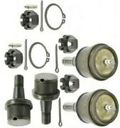 04-12 Dodge Ram1500/2500/3500 4x4 2upper And 2lower Moog Ball Joints Free Shipping