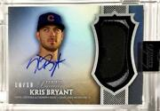 Mlb Card 2017 Kris Bryant Topps Dynasty Autograph Patches 10/10 Chicago Cubs