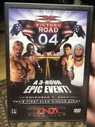 Tna Victory Road 2004 2-disc Dvd Very Rare Oop Jeff Hardy,nash,hall,aj,piper