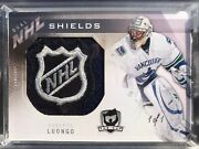Roberto Luongo And Ryan Kesler Ud The Cup Dual Nhl Shields 1/1 Vancouver Canucks