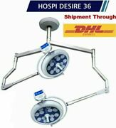 Model Desire 36 Double Surgical Operating Light Operation Theater Lamp Ot Light