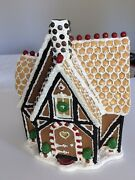 Traditions By Byers Choice Ltd Lg. Resin Christmas Gingerbread Candy House