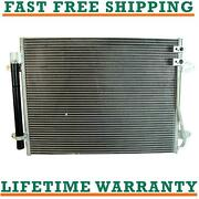 A/c Ac Condenser For 13-17 Volkswagen Fits Cc 2.0l L4 Free Shipping