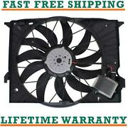Radiator Fan For 08-13 Mercedes-benz Fits S63 Amg 5.5l 6.3l V8 Free Shipping