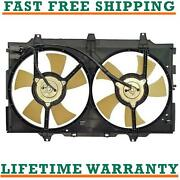 Radiator Condenser Fan For 89-94 Nissan Fits Maxima 3.0l V6 Free Shipping