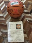 Atlanta Hawks 1992 Team Signed Basketball With Certificate Of Authenticity