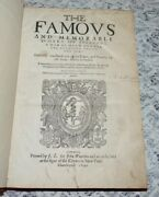 Early English Edition Of Josephus Printed In 1640 Ancient History Bible Jews