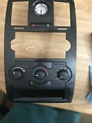 2008-2010 Chrysler 300/ Charger/magnum Climate Control Bezel And Clock Assembly