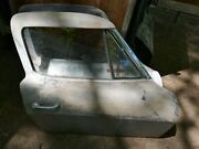 Corvette C2 1963 Used Original Coupe Right Door With Molding