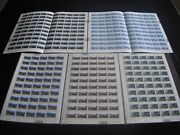 New Zealand 2003 Scenic Defins With Silver Ferns Set Sheets Mnh Refh666