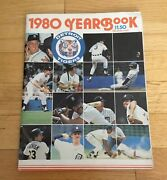 Detroit Tigers Mlb Baseball Official 1980 Yearbook Sparky Anderson Jack Morris