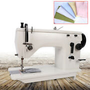 Industrial Strength Sewing Machine Head Upholstery And Denim Cotton +walking Foot