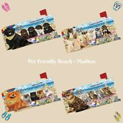 Pet Friendly Beach Mailbox Cover Dog Cats Pet Photo Lovers Outdoor Decor Gift