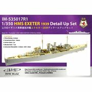 New 1/350 Hms Ca Exeter 1939 Detail Up Set Photo Etched Parts Pit-road Japan F/s