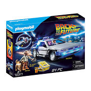 Playmobil Back To The Future Delorean Building Set 70317 New In Stock