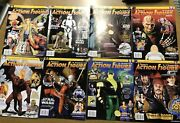 Tomart's Action Figure Digest Magazines Lot Of 8 Issues 120-127 Star Wars