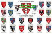 R364598 Cambridge University. Arms Of The Cambridge Colleges. Peterhouse. Magdal