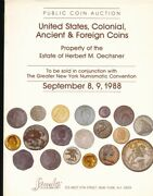 Hn Stackand039s New York Bar September 1988 United States And Colonial Coins Co C112