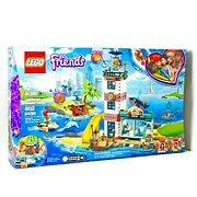 Lego Friends 41380 Lighthouse Rescue Center Emma Mia - Water Animals Deluxe Set