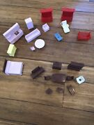 Vintage Lot - Doll Furniture, Believed To Be 1960's