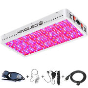 King Plus 4000w Led Grow Light Full Spectrum Indoor Greenhouse Double Switches