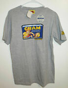 Wacky Packages Cram Mens' T-shirt Topps Officially Licensed Rare