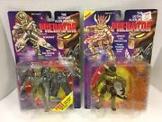 2 New Sealed Kenner 1993 Predator Action Figures Scavage And Spiked Tail Predator