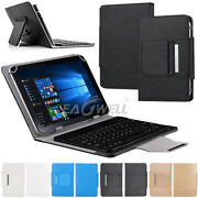 For Samsung Galaxy Tab A/e/s6/s5e/s4 7-10.5 Tablet Leather Case Keyboard Cover