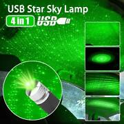 Green Usb Car Interior Atmosphere Sky Lamp Ambient Star Light Led Projector