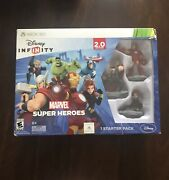 Disney Infinity Marvel Super Heroes 2.0 For Xbox 360 Starter Pack - Preowned