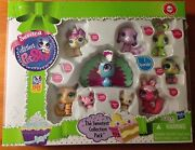 Littlest Pet Shop Sweetest Collection Pack 9 Pets Peacock Brand New And Seal