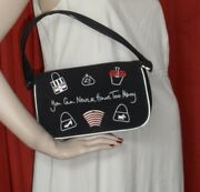 9 Lulu Guinness London You Can Never Have Too Many Bags Black Wrist Bag
