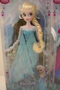 Disney Frozen Princess Elsa And Anna 2 Classic Doll Collection Set Of 2 Doll Rare