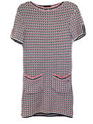 Rare Authentic Tweed Knit Dress Size 34
