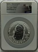 2019-p Proof Apollo 11 50th Anniversary 5 Oz Silver Ngc Pf70 Uc Moon Releases