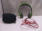 Beats Dr Dre Solo Hd Wired Headband Headphones Earphones And Case