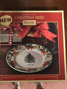 Spode 2018 Annual Christmas Tree Porcelain Collector's Plate New
