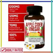 Apple Cider Vinegar Capsules With Ginger Papaya Chamomile Soothes Gas Farmhaven