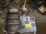 Ford 429/460 Bassett 10 Quarts Boat Oil Pan With Flapper Doors And Pick Up And Pump