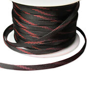 8mm Car Truck Expandable Braided Conduit Wire Cable Weave Sleeve Hose Cover Tube