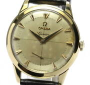 Omega Geneva K18yg Antique Small Seconds Cal.266 Automatic Menand039s_547006