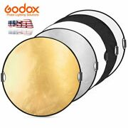 43 5 In 1 Handheld Light Foldable Disc Photograph Studio Reflector 43.3 Inch Us
