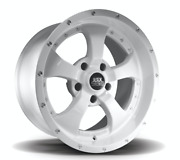 Black Mountain Gloss White Alloy Wheel And Tyre Package Jeep Wrangler - Set Of 5